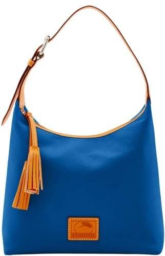 Dooney & Bourke Patterson Leather Paige Sac Shoulder Bag - MARINE - STYLE