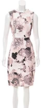 Calvin Klein Collection Floral Neoprene Dress