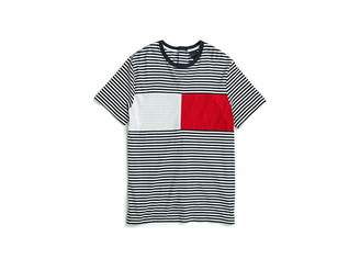 Tommy Hilfiger Adaptive Seated Fit T Shirt with Velcro(r) Closure