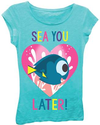 Freeze Finding Dory Sea You Later Tee (Little Girls)