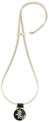 Marni strass pendant necklace