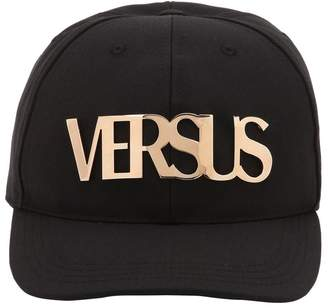 Versus Metal Logo Wool Baseball Hat