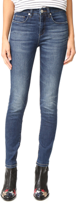 Blank Denim High Rise Jeans $98 thestylecure.com