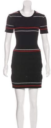 Public School Short Sleeve Knit Dress