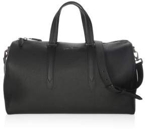 Salvatore Ferragamo Muflone Leather Weekender Bag