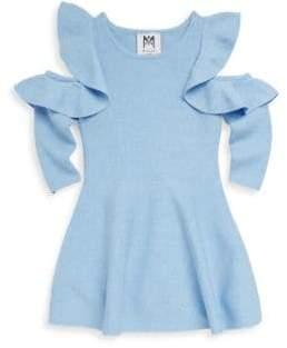 Milly Minis Toddler's, Little Girl's& Girl's Cutout Flounce Dress
