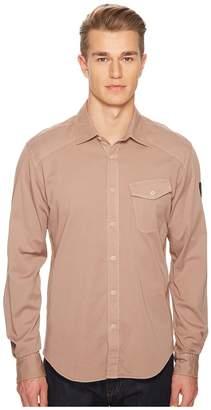 Belstaff Steadway Garment Dyed Twill Shirt Men's Clothing