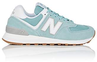 New Balance Women's 574 Classic Suede & Mesh Sneakers