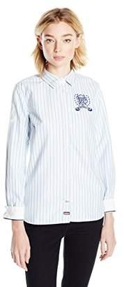 U.S. Polo Assn. Juniors' Long Sleeve Striped or Fancy Oxford Woven Shirt