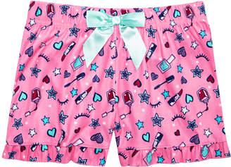 Max & Olivia Big Girls Printed Pajama Shorts