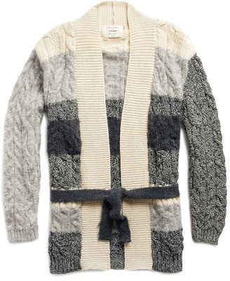 James Long Belted Cardigan