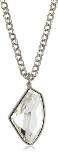 Martine Wester Jewelry ''Ltd'' Crystal Nugget Pendant Necklace