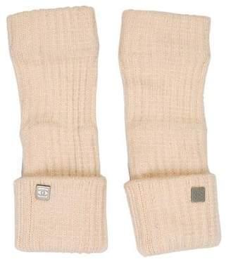 Chanel Cashmere Fingerless Gloves