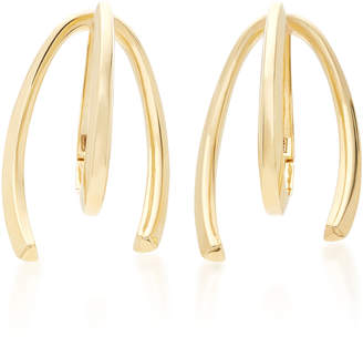 Bea Yuk Mui Bongiasca Honeysuckle 9K Gold Long Earrings