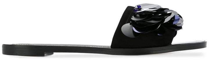 Lanvin sequin embellished sandals