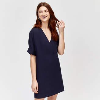 f473ea74 at Warehouse · Warehouse Wrap Shift Dress
