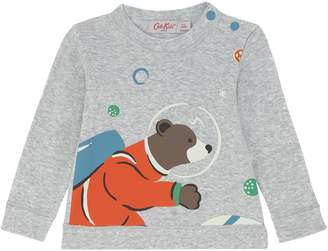 Cath Kidston Baby Boys Long Sleeve Bear T-shirt