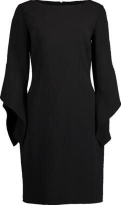 Michael Kors Drape Sleeve Sheath Dress