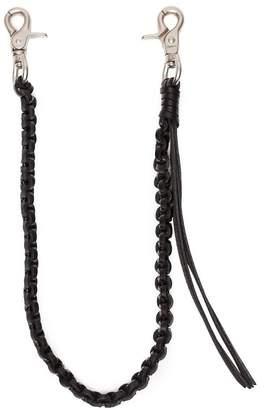 Yohji Yamamoto Leather Wallet Chain
