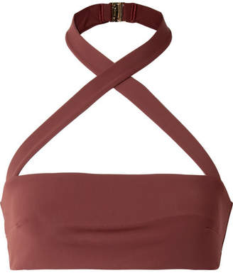 Fella - Roy Halterneck Bikini Top - Chocolate