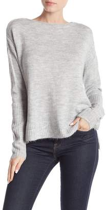 Melrose and Market Ribbed Knit Dolman Sleeve Sweater