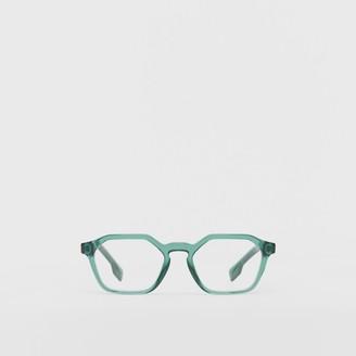 Burberry Geometric Optical Frames