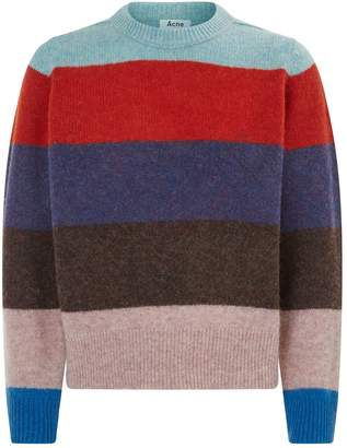 Acne Studios Kai Stripe Wool Sweater