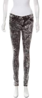 Rag & Bone Tie-Dye Mid-Rise Jeans