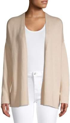 Eileen Fisher Long-Sleeve Open-Front Cardigan