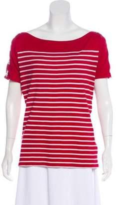 Lauren Ralph Lauren Striped Short Sleeve Top