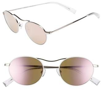 KENDALL + KYLIE Tasha 49mm Oval Sunglasses