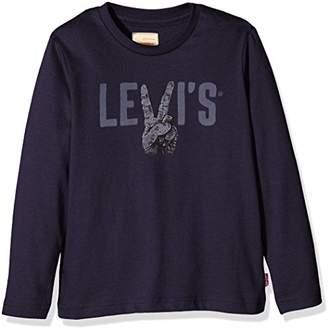 896c63d7 at Amazon.co.uk · Levi's Kids Boy's Long Sleeve Tee Edern ...