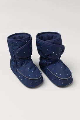 H&M Padded Slipper Socks - Blue