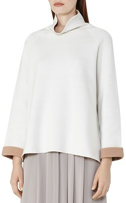 REISS Chloe Funnel-Neck Sweater $240 thestylecure.com