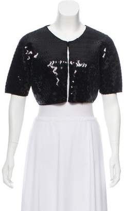 By Malene Birger Embellished Wool & Angora Bolero