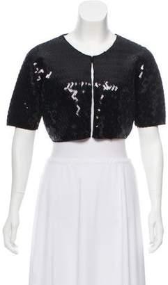 By Malene Birger Embellished Wool & Angora Bolero