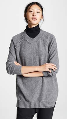 Belstaff Seaforth Wool V Neck Sweater