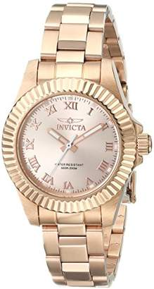 "Invicta Women's 16763SYB""Pro Diver"" 18k Ion-Plated Stainless Steel Watch"