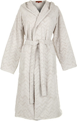 Missoni Home Rex Hooded Bathrobe