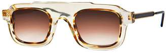 Thierry Lasry robbery champagne and yellow sunglasses