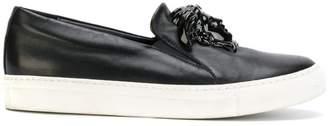 Versace Medusa slip-on sneakers