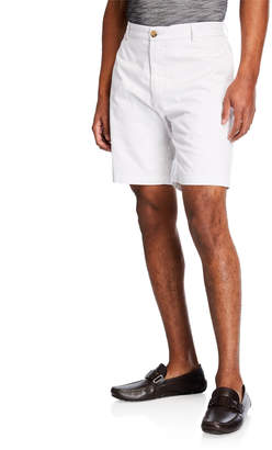 Tailorbyrd Men's Classic Flat-Front Shorts