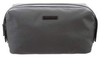 Michael Kors Leather-Trimmed Nylon Toiletry Bag
