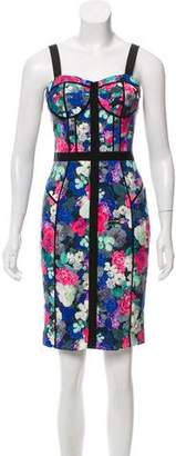 Rebecca Minkoff Floral Print Mini Dress
