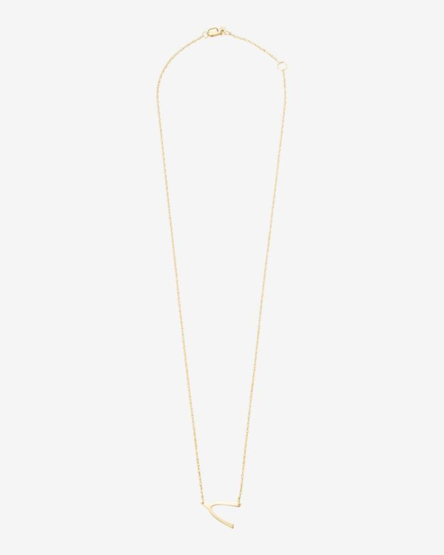 Jennifer Zeuner Jennifer Zuner Horizontal Wishbone Necklace