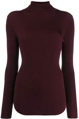 Pinko ribbed roll neck sweater