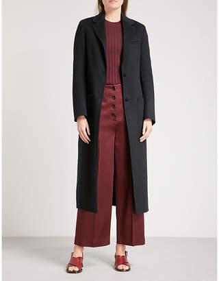 Joseph Marvil wool and silk-blend coat