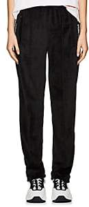 Opening Ceremony Women's Logo-Print Velour Track Pants - Black