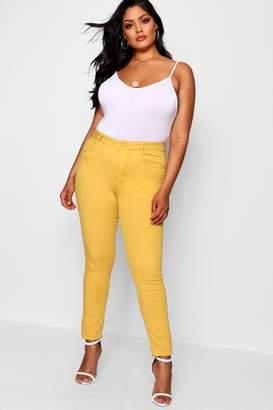 boohoo Plus Mango Skinny Jean