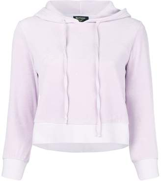 Juicy Couture (ジューシー クチュール) - Juicy Couture Swarovski personalisable velour hooded pullover